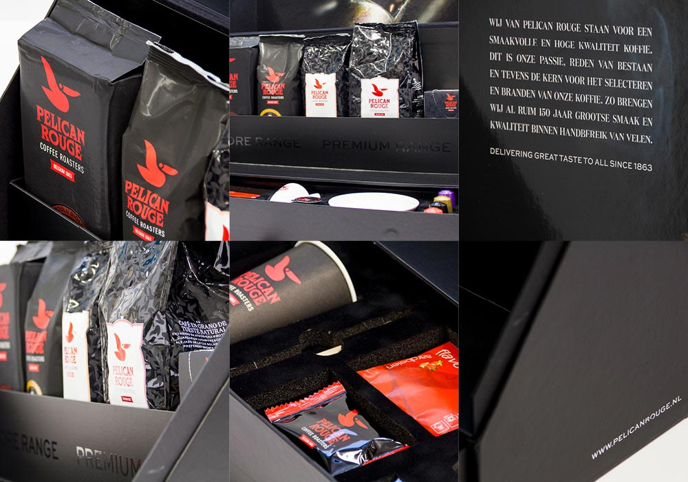 Pelican Rouge sales kit collage